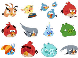 adds angry birds stickers sociobits