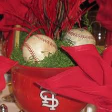 baseball wedding table decorations baseball wedding centerpiece use different teams for each table