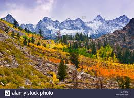 fall color bishop creek sierra peaks inyo national
