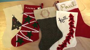 make a personalized christmas stocking 2016 youtube