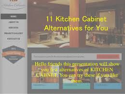 Alternative To Kitchen Cabinets 11 Kitchen Cabinet Alternative For You Watch It