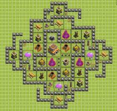 coc layout builder th8 hypnotica th8 trophy base