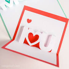 Make Own Cards Free - use a silhouette to make your own mother u0027s day pop up cards free