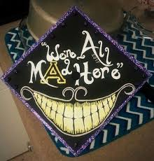 Alice In Wonderland Decoration Ideas 30 Creative Graduation Cap Decoration Ideas For Creative Juice