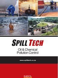 spill tech brochure oil spill petroleum