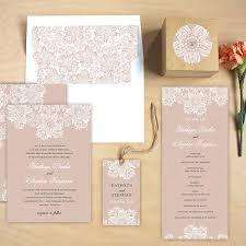 lace wedding invitations lace wedding invitations by elli