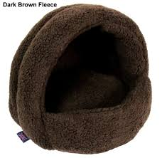 Hooded Dog Bed Fleece Lined Hooded Cat Bed 34 19 Pet Perfection