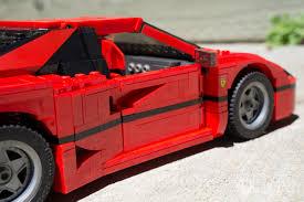 ferrari building the lego ferrari f40 is a masterpiece review lewis leong