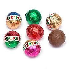 solid milk chocolate balls 1 lb approx