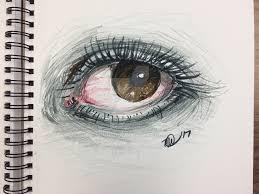 crayola marker eye sketch by kinn12 on deviantart