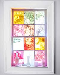 stained glass window diy stained glass windows martha stewart