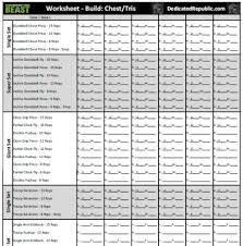 Beast Meal Plan Spreadsheet Beast Worksheets Dedicated Republic Bodybeast