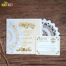 wedding invitation sle popular bulk sale professional wedding invitation card maker lace