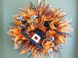 how to make wreaths how to make a deco mesh sunburst wreath wreaths tutorials and craft