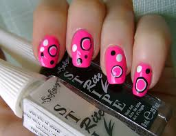 nail designs pink beautify themselves with sweet nails