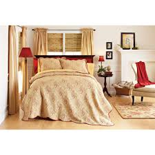 Bedspreads And Coverlets Quilts Better Homes And Gardens Pembroke Matelasse Coverlet Walmart Com
