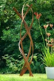 iron garden sculptures exhort me