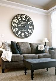 Decorative Wall Clocks For Living Room 219 Best Large Wall Clock Decor Images On Pinterest Big Clocks