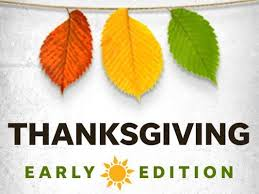 courier journal s thanksgiving edition available one day early