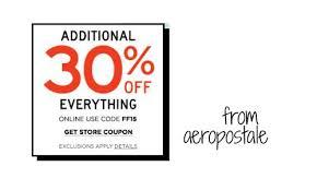 aeropostale coupon code 30 southern savers