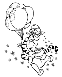 winnie pooh colouring pages 27 print color free