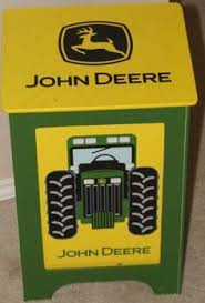 John Deere Tractor Lamp With Matching Lamp Shade Lamp For Sale Or - John deere kids room