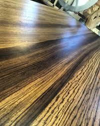 zebra wood pub table ta bay salvage