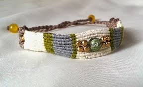 macrame bead bracelet images Rustic beaded macrame bracelet tutorial the beading gem 39 s journal jpg