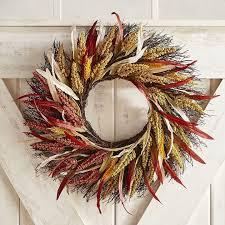 pier 1 imports sunset harvest wreath best fall wreaths
