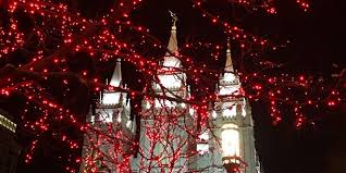 temple square lights 2017 schedule christmas lights shine bright on temple square lds daily