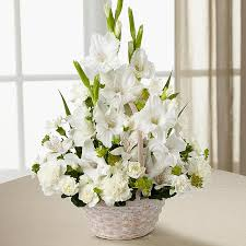 sympathy flowers delivery my eternal for you funeral basket blue iris