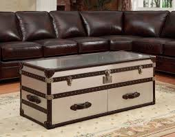 coffee tables dazzling wonderful trunk coffee table living room