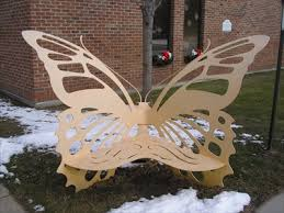 Butterfly Bench Butterfly Bench Fraser Public Library Fraser Mi Insect