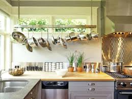 Kitchen Island With Hanging Pot Rack Hanging Kitchen Pot Rack Target Rooster Racks Pan Wall Mounted