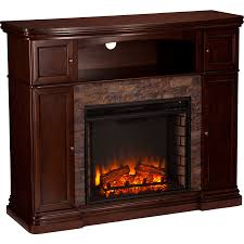 Electric Media Fireplace Southern Enterprises Sei Hillcrest Media Console Fireplace