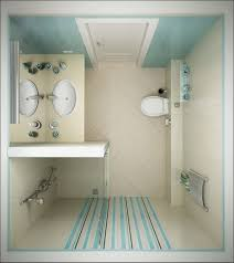bathroom graceful small bathroom ideas with shower only blue