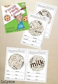 printable activities children s books free printable if you give a mouse a cookie activities laura