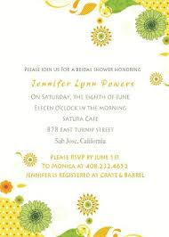 inexpensive bridal shower invitations sunflower bridal shower invitations mounttaishan info