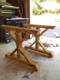 Fancy X Table From Pallets  DIY  Wwwtommyandelliecom - Kitchen table legs