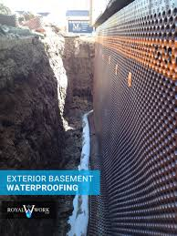 exterior basement membrane cheap basement services toronto wet