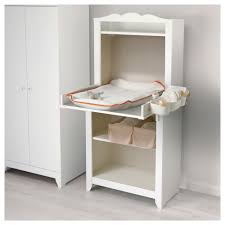 Ikea Computer Desk Hensvik Changing Table Cabinet White Ikea