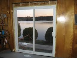 Install French Doors Exterior - chic installing a sliding patio door removing patio sliding door