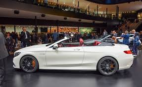 mercedes amg convertible 2017 mercedes amg s63 cabriolet pictures photo gallery car and