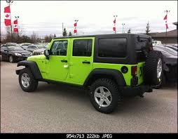 lime green jeep wrangler 2012 for sale lime green jeep wrangler search manifesting