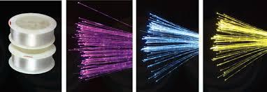 fiber optic light strands led and fiber optic lighting by wiedamark single strand fiber