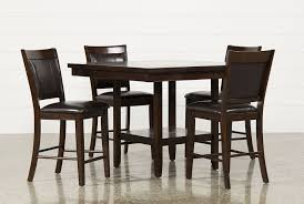 5 Piece Dining Room Sets by Harper 5 Piece Counter Set Living Spaces