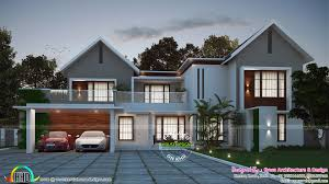 beautiful modern mix house in 3566 sq ft kerala home design beautiful modern mix house in 3566 sq ft