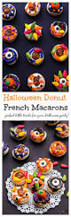 halloween donut macarons cook with manali