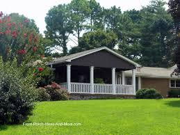 Cottage Front Porch Ideas by Ranch Home Porches Add Appeal And Comfort Gable Roof Ranch