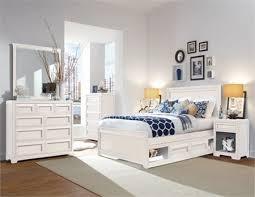 brook 6 pc queen bedroom set white orange county ca glenmore panel